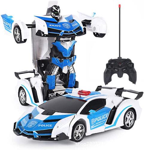 Kinder Weihnachten Spielzeug Transformer Auto Rennauto Roboter Mit Fernbedienung