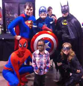 SPIDERMAN, BATMAN, CAPTAIN AMERICA SUPERHERO 4 HIRE Oakville / Halton Region Toronto (GTA) image 1