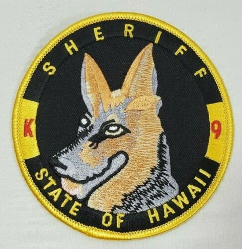 STATE OF HAWAII K-9 SHERIFF POLICE PATCH *HARD TO FIND*