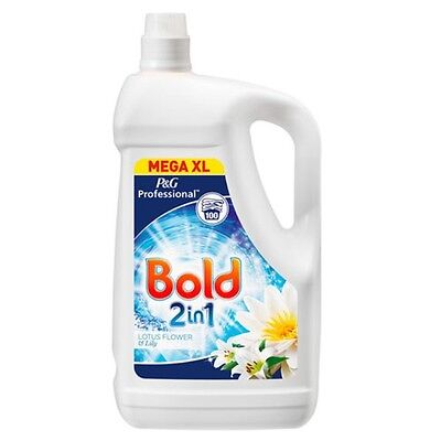 Bold Laundry 2 in 1 Liquid, 100 Wash