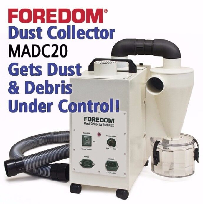 Foredom Dust Collector MADC 20 Cyclone Collection For Grinding Polishing Debris