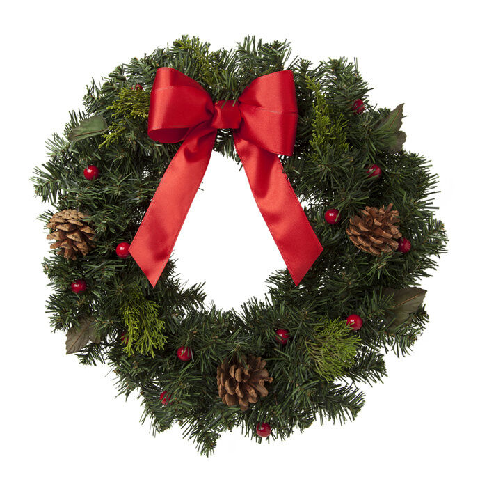 Ideas for decorating with a christmas wreath ebay Christmas wreath decorations