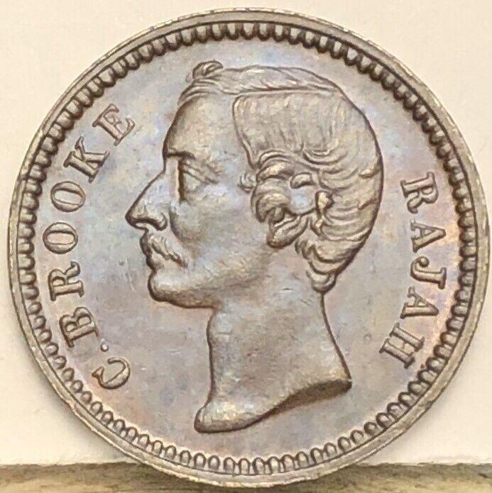 Sarawak 1/4 Cent 1896. KM# 4.