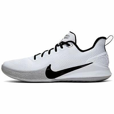 New Nike Kobe Mamba Focus Basketball Shoes Men 12/Women 13.5 Black/White/Gray