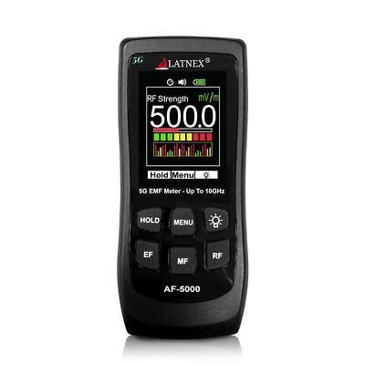 Latnex Af-5000 Multi-field 5g Radiation Emf Meter Rf Detector Reader To 10ghz