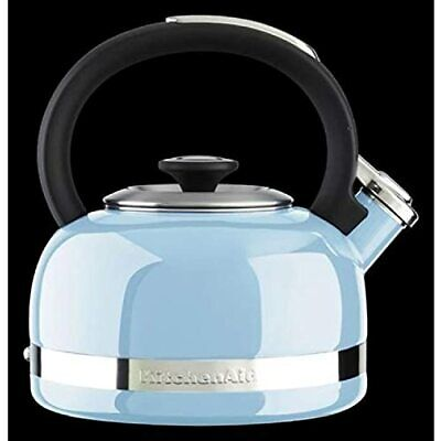 KitchenAid KTEN20DBEU 2.0-Quart Full Handle and Trim Band Stovetop Kettle