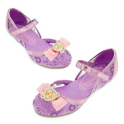 Disney Tangled Shoes (Disney Deluxe Tangled Princess Rapunzel Girls Shoes Size 7/8 9/10 11/12)