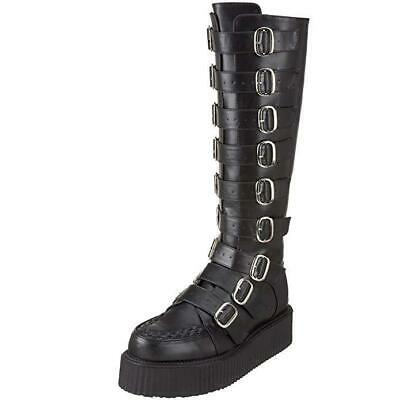 New Pleaser USA V-Creeper 585 Buckle-Up Boot Men Size 4 Unisex Women Sz (Pleaser Usa Boots)