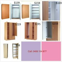 Brand new wardrobes for sale from $109 Westmead Parramatta Area Preview