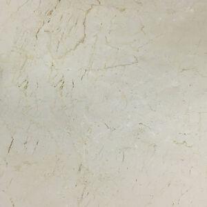 Crema Marfil Polished Marble Tiles - SAMPLE