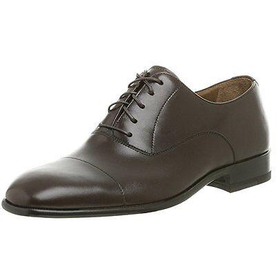 (Magnanni Men's Toledo Leather Oxford Shoes Brown Size 13 M)