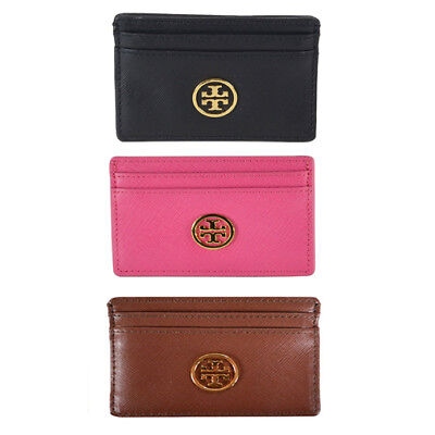 NWT Authentic Tory Burch Robinson Business Slim Card Case