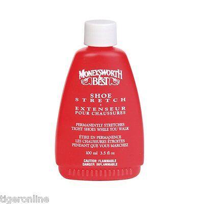 Moneysworth & Best Shoe Stretch Boot Gloves Liquid Stretcher 3.5