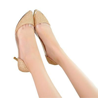 New Sexy Women Casual Pointed Toe Pumps High Heels Party Wedding Shoes Pumps  5