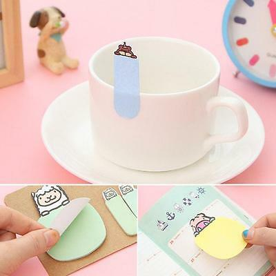 Cute Animal Kraft Mini Note Paper Sticky 4 Styles Notes Memo Pad Gift Stationery