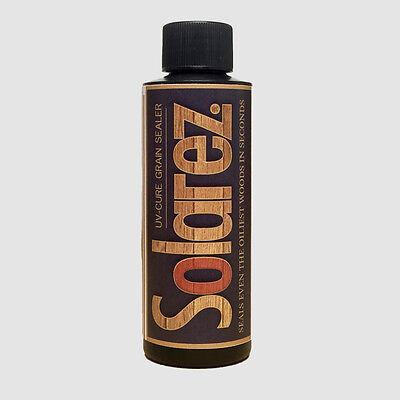 Solarez Uv Cure Grain Filler Sealer 4oz Cures 3-5 Minutes