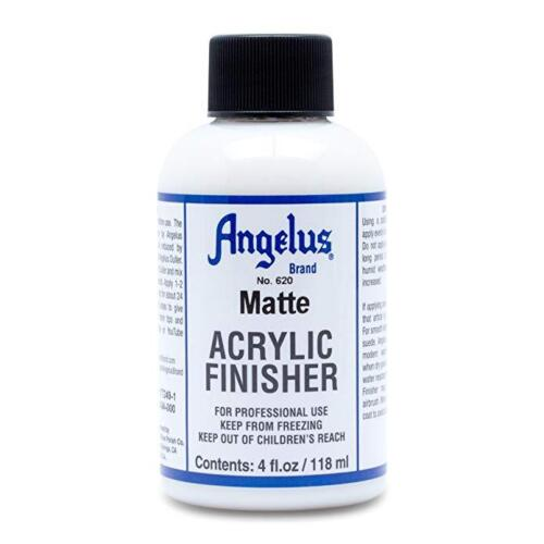 Angelus Brand Acrylic Leather Paint Mate Finisher No. 620 - 4oz