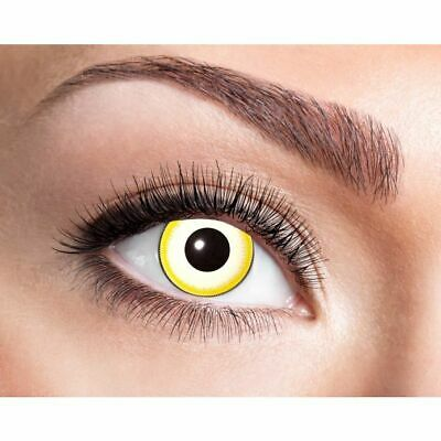 Farbige Kontaktlinsen für Halloween und Fasching, 2 Stück, - Avatar Kontaktlinsen