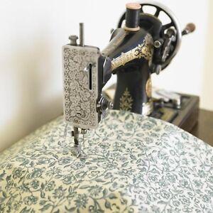 William Morris Merton Green Pvc / Oilcloth Fabric By The Half Metre