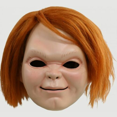 Trick or Treat Studios Adult Curse of Chucky Mens Halloween Costume Mask w/ Wig