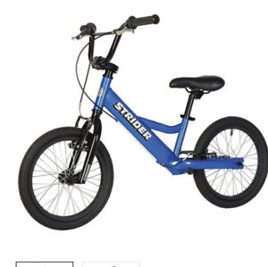 Brand new STRIDER Sport 16 Balance Bike - Blue