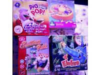 Four kids games