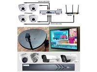 Sattelite,aerial, CCTV installation and maintenance + IPTV ,TV wallmount