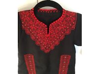 Girls Traditional Embroidered Palestine/Jordan Costume Dress Thobe