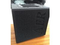 AER Alpha 40 Acoustic guitar amp with AER bag