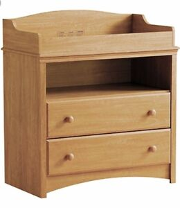 South Shore Baby Changing Table - natural color new in box