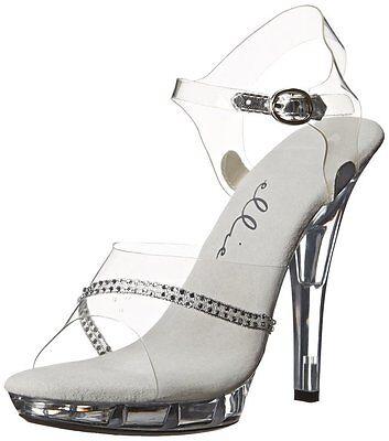 COMPETITION Fitness POSING SUIT SHOES  Ellie Shoes Women's M Jewel Platform  - Ellie Platform Shoes