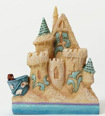 Jim Shore Heartwood Creek Beach Sand Castle Miniature Figurine 4047065