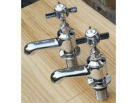 BATHSTORE Bathroom Bath Taps Chrome READY TO INSTALL! RRP £99.00 NOW ONLY £20! BARGAIN!