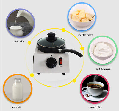Single Pot Chocolate Melt Milk Honey Heater Tempering Machine Nonstick Pot