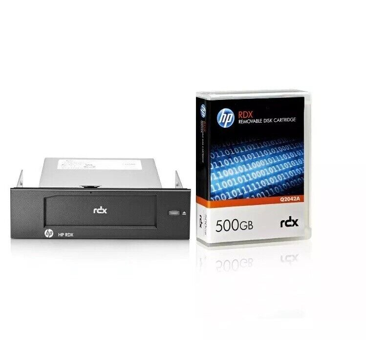 HP RDX500 USB3.0 Internal Disk Backup System ,NEW