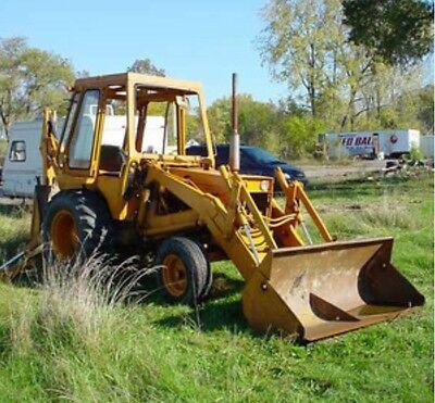 CASE 35 580CK LOADER BACKHOE 580 B SERIES TRACTORS MANUAL PARTS CATALOG G1151 (Series Tractors Parts Catalog)