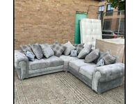 BRAND NEW VERONA CHESTERFELID CORNER OR 3+2 SEATER SOFA SET AVAILABLE IN STOCK ORDER NOW