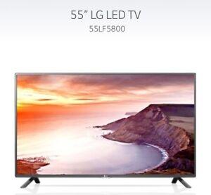"""55"""" LG TV (broken screen)"""