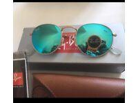 Round sunglasses glass lens