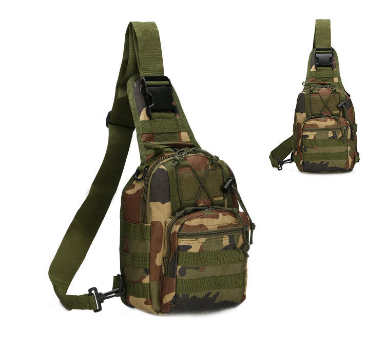 Outdoor Shoulder Military Tactical Backpack Travel Camping  Hiking Trekking Bag Camo