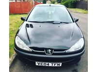 Peugeot 206 AUTOMATIC Milage 70k 6Month mot 12month tax lady owner