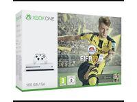 Xbox one S 500gb FIFA bundle. Brand new unopened.
