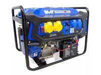 Wolf generator 7000w brand new!!! , Burger van, generator