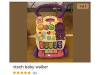 V tech baby walker / activity centre