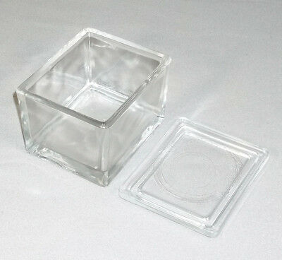 Wheaton Glass 20 Slide Staining Dish Jar With Cover