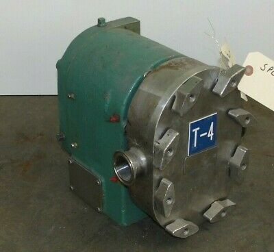 Pr25 Tri-clover Positive Displacement Sanitary Pump R25-1-12m-uc2-sl-s Rebuilt