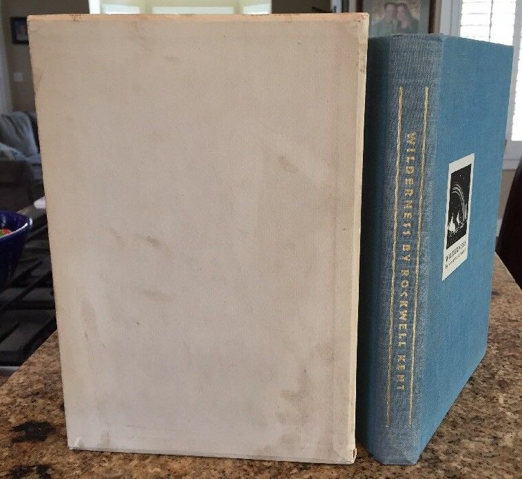 ROCKWELL KENT Signed WILDERNESS: A JOURNAL OF QUIET Limited Edition NUMBERED 71