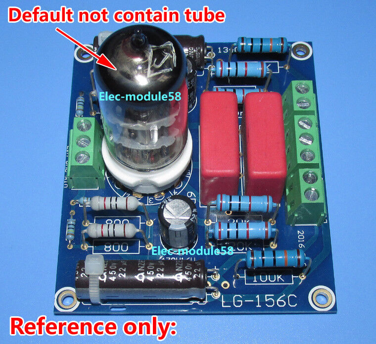 Hifi Pre-amp 6n2 6n11 6922 Tube Buffer Preamplifier Reference Musical Fidelity X10-d Preamp Amplifier