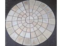 Rotunda Circle Kits, Paving Circles, Paving Slabs from £60 1.8mtr circle kit to a larger 4 ring kit.