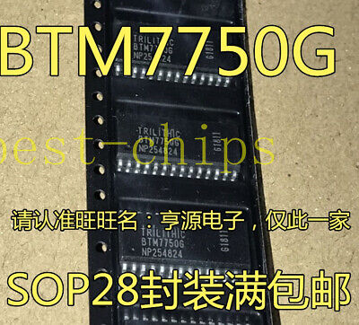 3pcs Btm7750g Ic Motor Driver Quad Dso-28 Btm7750 7750 7750g  K1995